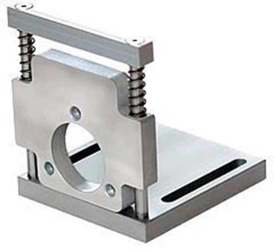 Picture of DHAF 8580 36 Mounting bracket spring-loaded | ABP-ANTRIEBSTECHNIK
